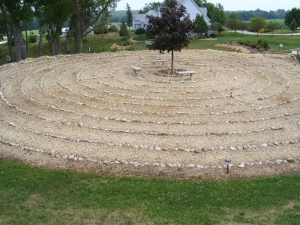 Labyrinth at Our Lady of the Prairie Retreat Center, Wheaton, Iowa